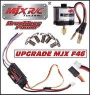 Brushless motor set voor MJX F-46 Single Blade