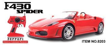 Ferrari met officiële Ferrari Licentie