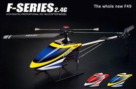 MJX F649 F49 Single Blade 4 Kanal 2,4 GHz