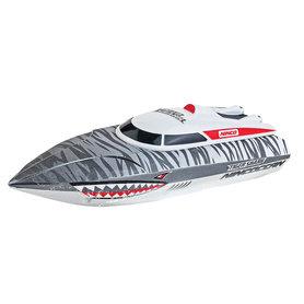 Ninco RC Tiger Shark Boot 24x9x8 cm Grijs/Wit