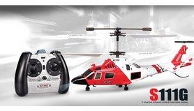 SYMA S111G 3-kanaals infrarood met Gyro Rc Helikopter