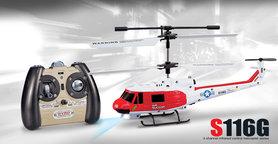 Syma S116G 3-kanaals infrarood met Gyro Rc Helikopter