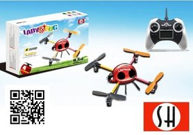 SH 6043 4ch 2.4G Quadcopter voor Beginners