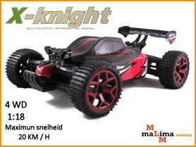 X-Knight RC Car Buggy 2.4 GHZ 20Kmph 1:18