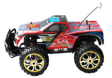 RC Monstertruck kleur Rood