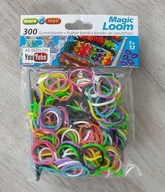 Magic loom elastiekjes Mix