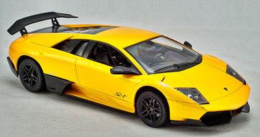 Rc Lamborghini murcielago LP670-4 SV 1:14 (Geel)