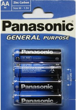 Panasonic 1,5V AA batterij General purpose