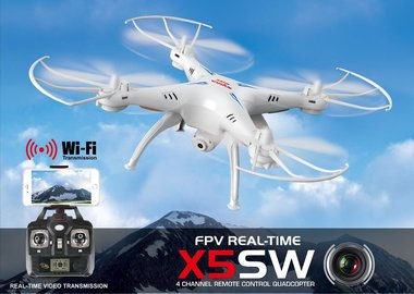 Syma X5SW-1 Wi-fi FPV Real-time camera 2.4G QuadCopter