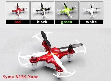 SYMA X12S Nano 2.4G 4 kanaals 6 as RC Quadcopter