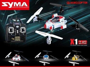 SYMA X1 2.4G RC UFO Ultra Micro Quadcopter