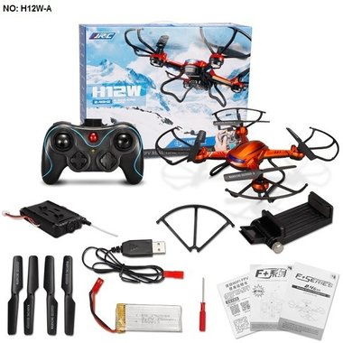 Rc Quadcopter JJRC H12W met Camera en FPV