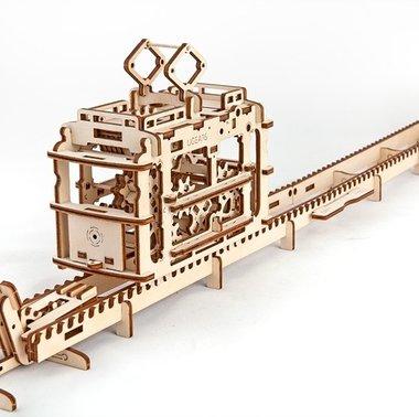 UGEARS 3D puzzel Model Tram