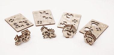 UGEARS 3D puzzel Model Tribka-Trinkets