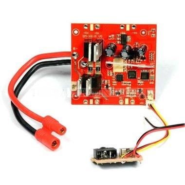 Syma X8C-17-Receiver-board / printplaat