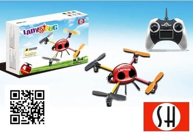 SH 6043 4ch 2.4G Quadcopter voor Beginners