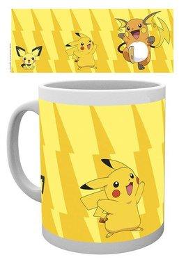 Pokémon Pikachu Evolutie - Mok
