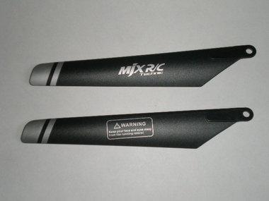 MJX F46 F646 Main Blade set / Rotorblad set (set van 2)