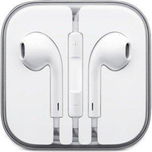 Iphone 5 oortjes met volumeregelaar en microfoon