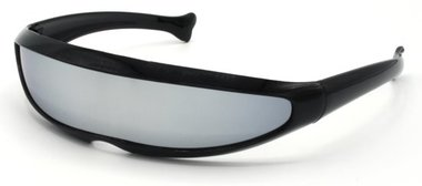 Snelle Planga Zonnebril Zwart met Smoke glazen