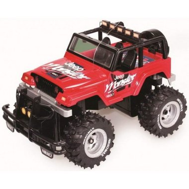 Nikko Rc jeep rubicon 1:18 ROOD