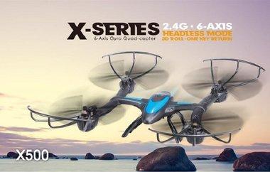 MJX X500 6-assige Gyro Headless modus één sleutel terug WIFI FPV