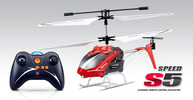 Syma S5 speed RC helicopter 3 kanaals (NIEUW MODEL 2013)