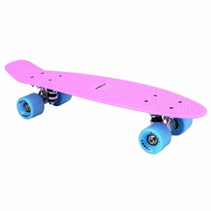 Alert Skateboard 55 cm Roze/Blauw