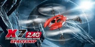 Syma X7 2,4 GHz 4-kanaals Quadcopter