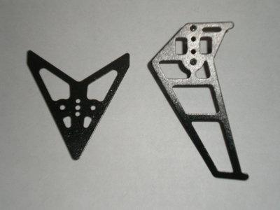 LB-9961-18 Tail decoration / Staart vleugel set