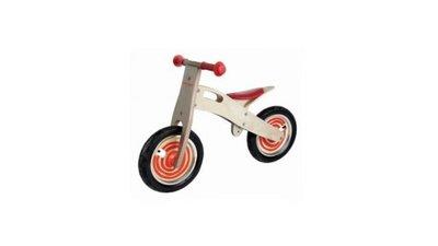 Simply for Kids Houten Loopfiets Rood